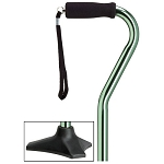 Able Tri Pod Walking Cane - Mint