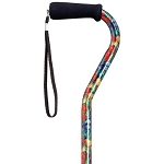Summer Garden Adjustable Offset Walking Cane