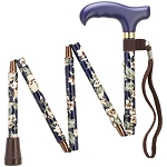 Mini-Folding Adjustable Walking Cane - Dogwood