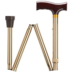 Bronze Folding Walking Cane