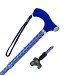 Soft Step Walking Cane-Blue