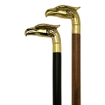 Brass Eagle Head Walking Cane