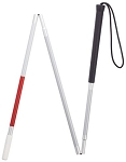 Visuall Impaired Three Section Folding Cane-45