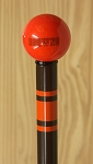 Cleveland Browns Walking Cane Featuring a Officially Licensed NFL Ball Handle