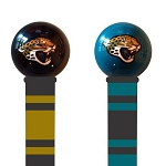 Jacksonville Jaguars Walking Cane Featuring a Officially Licensed NFL Ball Handle