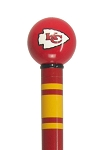 Kansas City Chiefs Walking Cane Super Bowl Champions Cane Featuring a Officially Licensed NFL Ball Handle