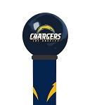 Los Angeles Chargers Walking Cane Featuring a Officially Licensed NFL Ball Handle