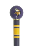 Minnesota Vikings Walking Cane Featuring Officially Licensed NFL Ball Handle
