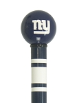 New York Giants Walking Cane Featuring a Officially Licensed NFL Ball Handle