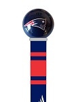 New England Patriots Walking Cane Featuring a Officially Licensed NFL Ball Handle