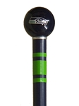 Seattle Seahawks Walking Cane Cane Featuring a Officially Licensed NFL Ball Handle