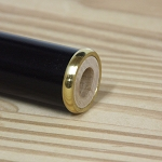 Walking Cane Brass Ring with Polished Finish