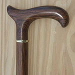 Derby Cocbolo Wood Wood Walking Cane Handle
